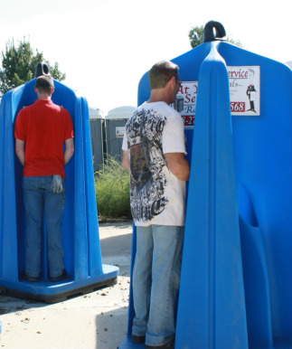 porta potty urinals