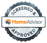 GreenTek Professional Carpet Cleaning is screened and approved on home advisor