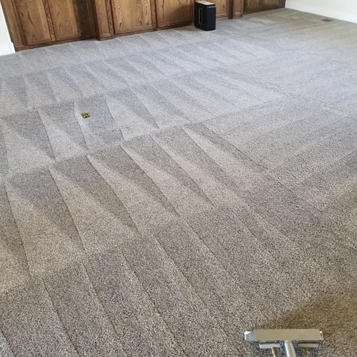 carpet cleaning a home in bend or