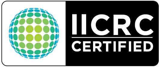 GreenTek Professional Carpet Cleaning is iicrc certified