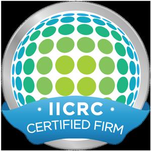 GreenTek Professional Carpet Cleaning is iicrc certified
