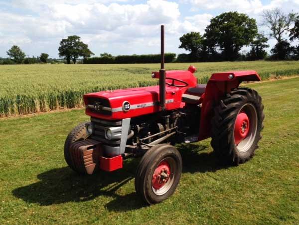 Moteur pour tracteur Massey Ferguson 135