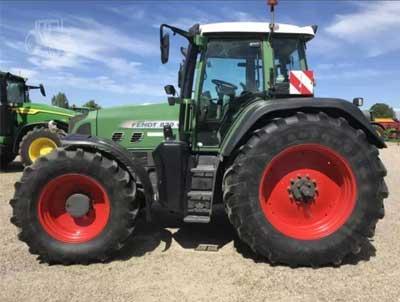 Moteur pour tracteur Fendt 820