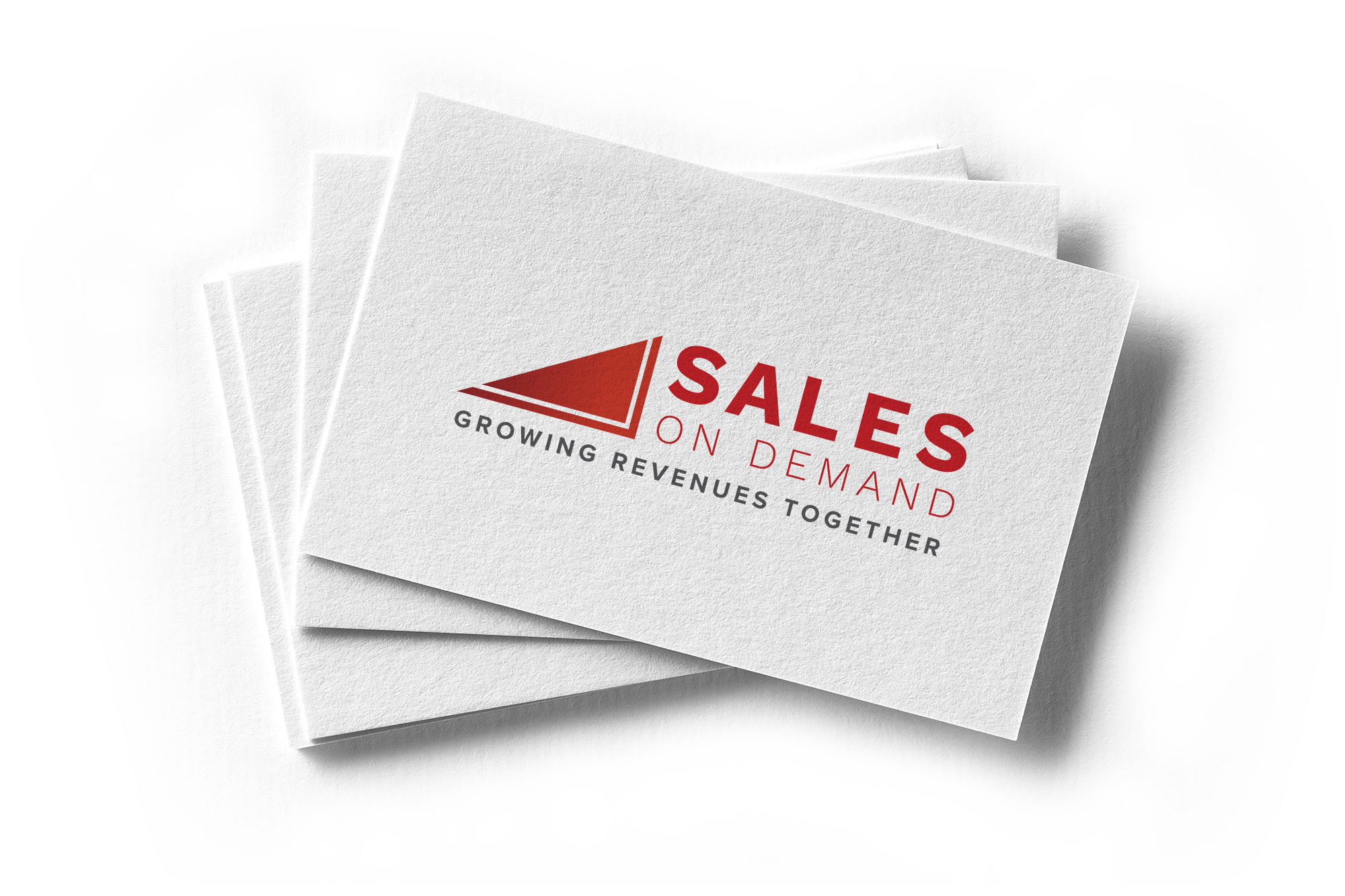 Sales On Demand Business Card