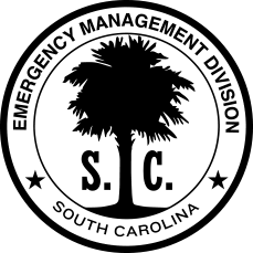 SCEMD Logo (Black)