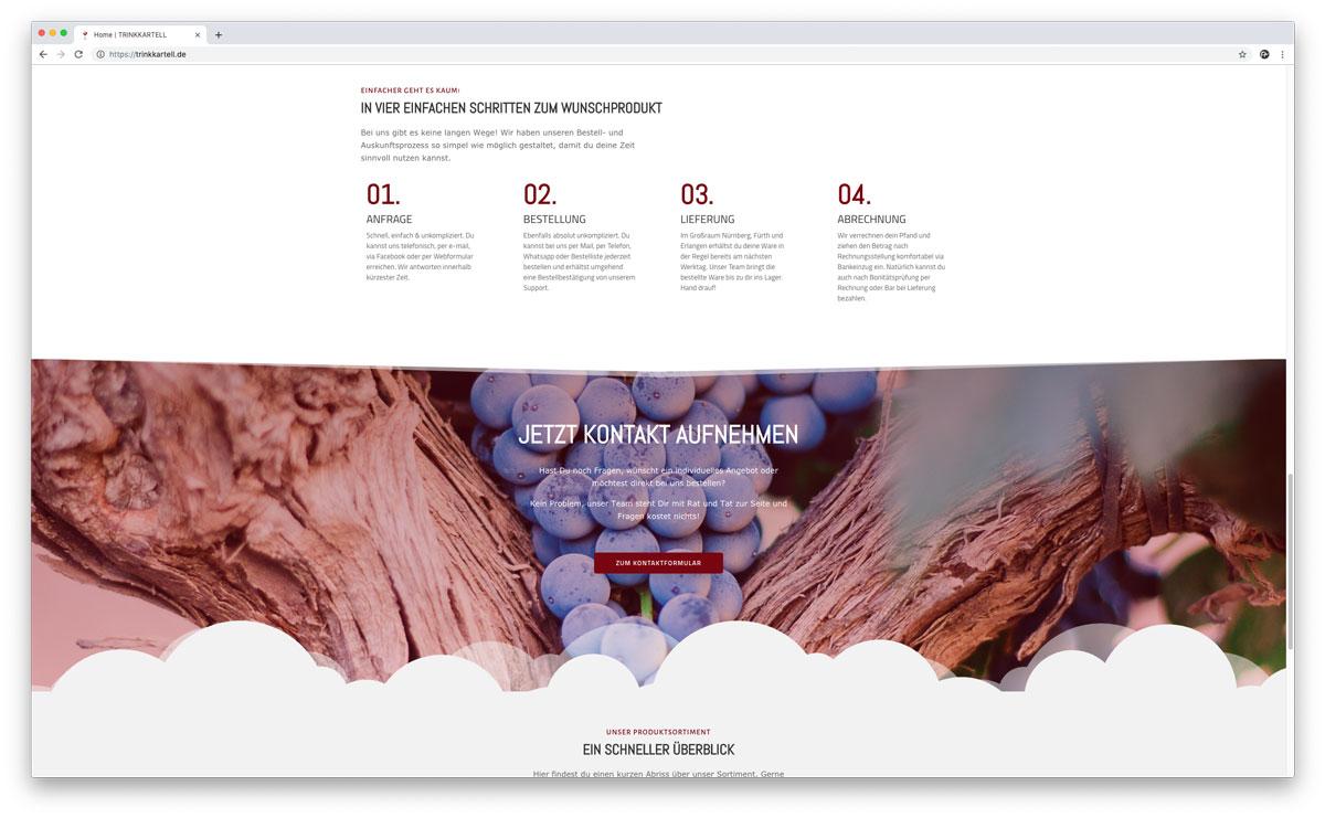 Website Trinkkartell GmbH
