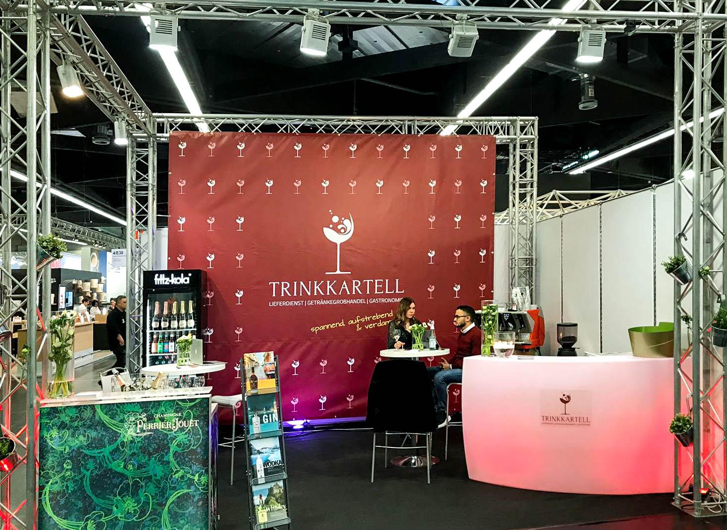 Messestand Trinkkartell GmbH