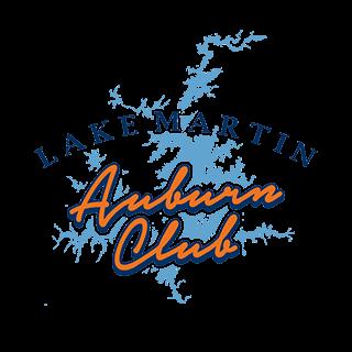 Lake Martin Auburn Club Logo