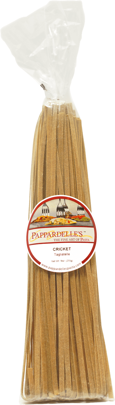 Cricket Pasta Product