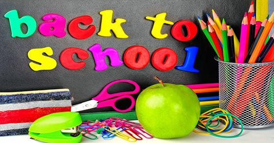back to school classroom supplies