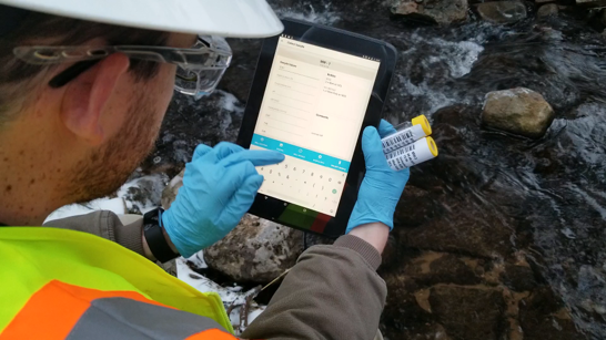 SampleServe SampleEnv Environmental Field App