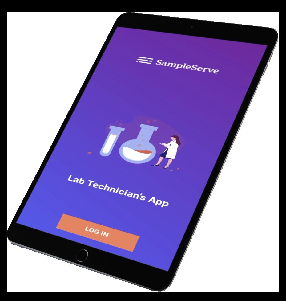 SampleServe Laboratory Sample Log in App