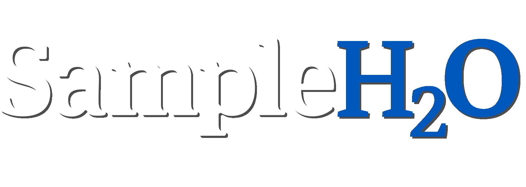 SampleH2O Drinking Water Testing Solution