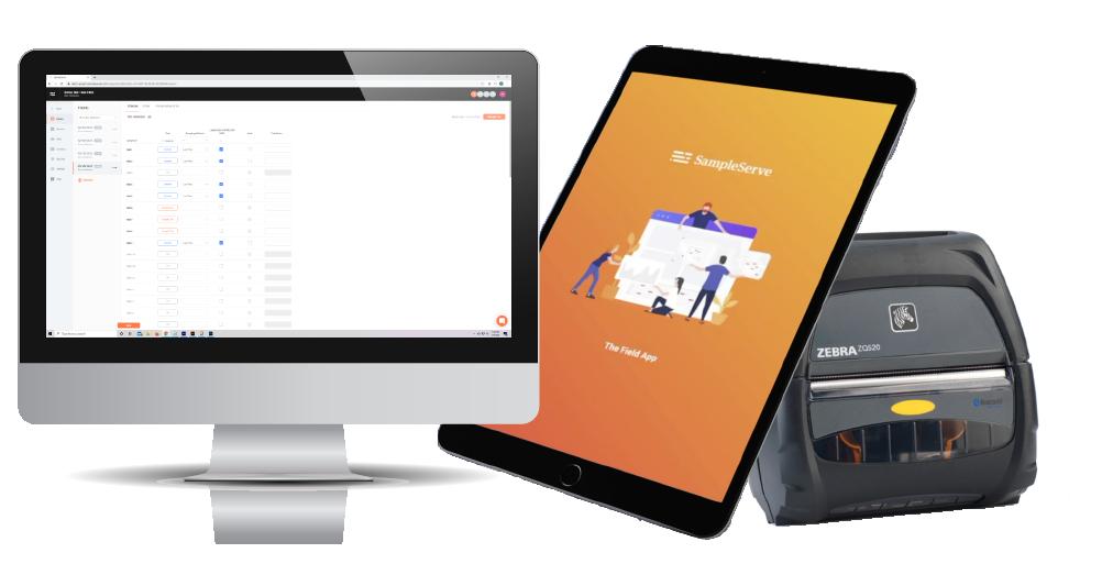 SampleServe SampleENV Sampling and Reporting Software