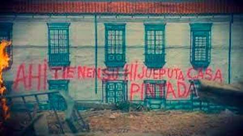 casa pintada hijueputa