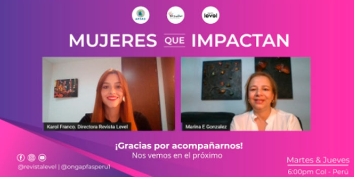 Mujeres que Impactan Revista Level