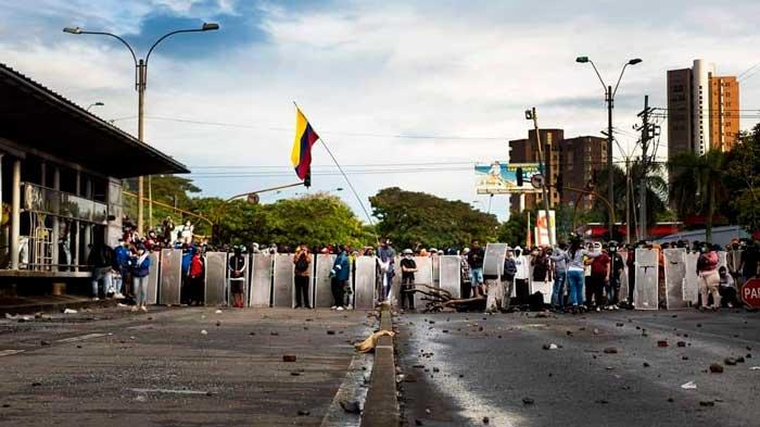 Colombia paro marchas movilizaciones