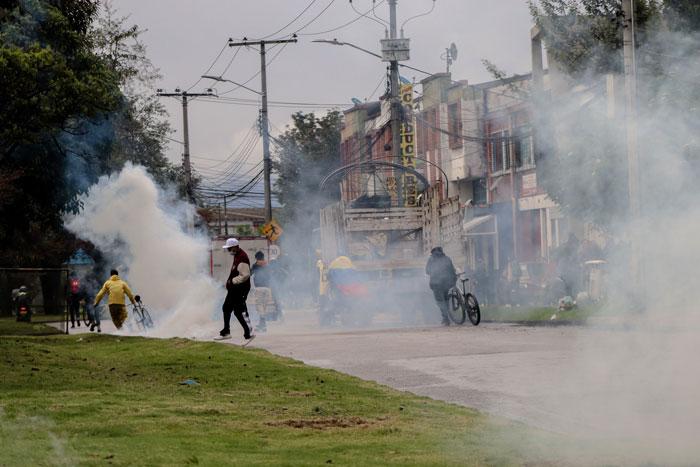 protestas en Colombia revista level