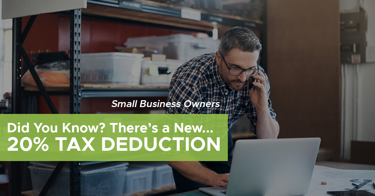 20% Small Business Tax Deduction