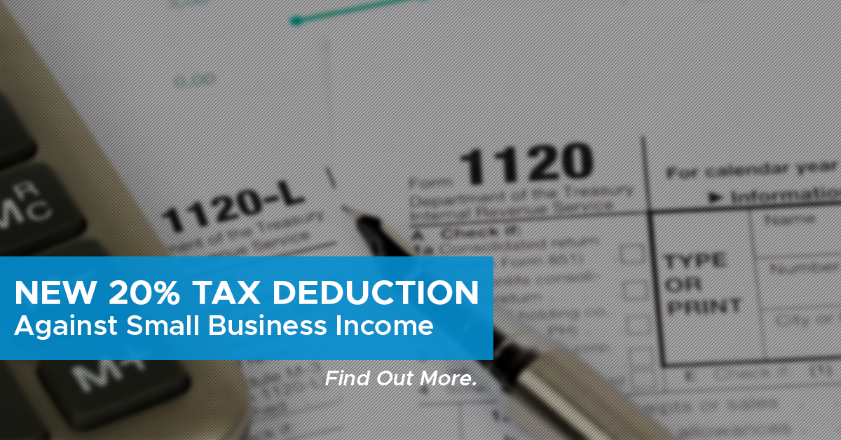 IRS 199A Pass Through Deduction