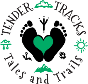 tender tracks tales and trails logo
