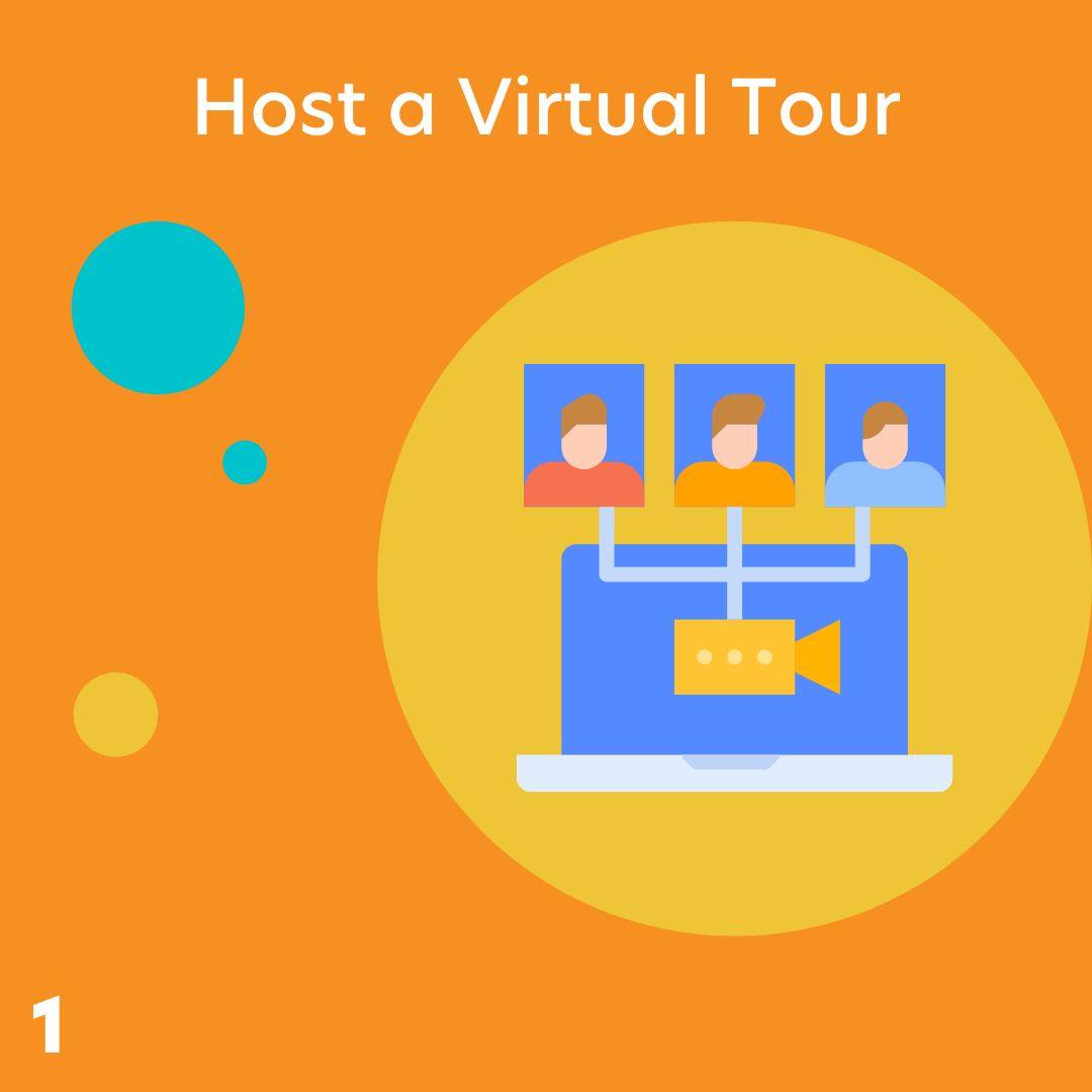 Host a virtual tour