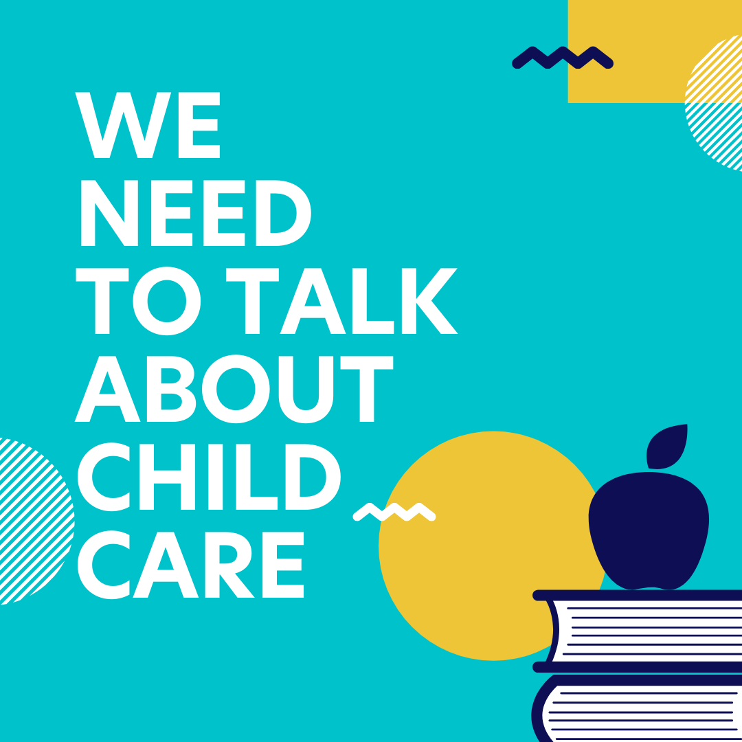 Cuarcubby Instagram Post: We Need to Talk About Child Care