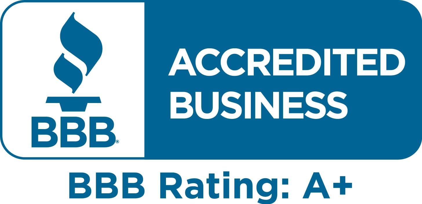 steves pc repair is accredited on BBB with an A+ rating