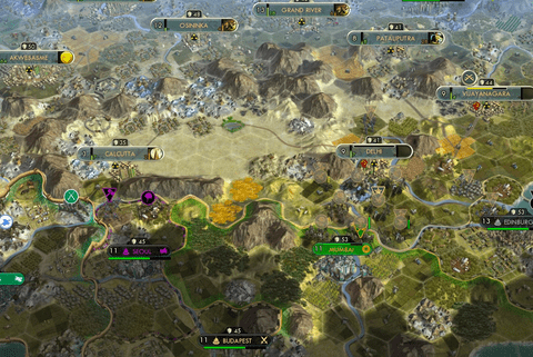 Pictured: Civilization 5 is an excellent team building game much like the classic board game RISK.