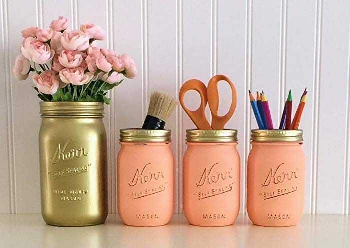 These storage containers make our list of desk organization ideas because they are so useful and so easy to DIY!