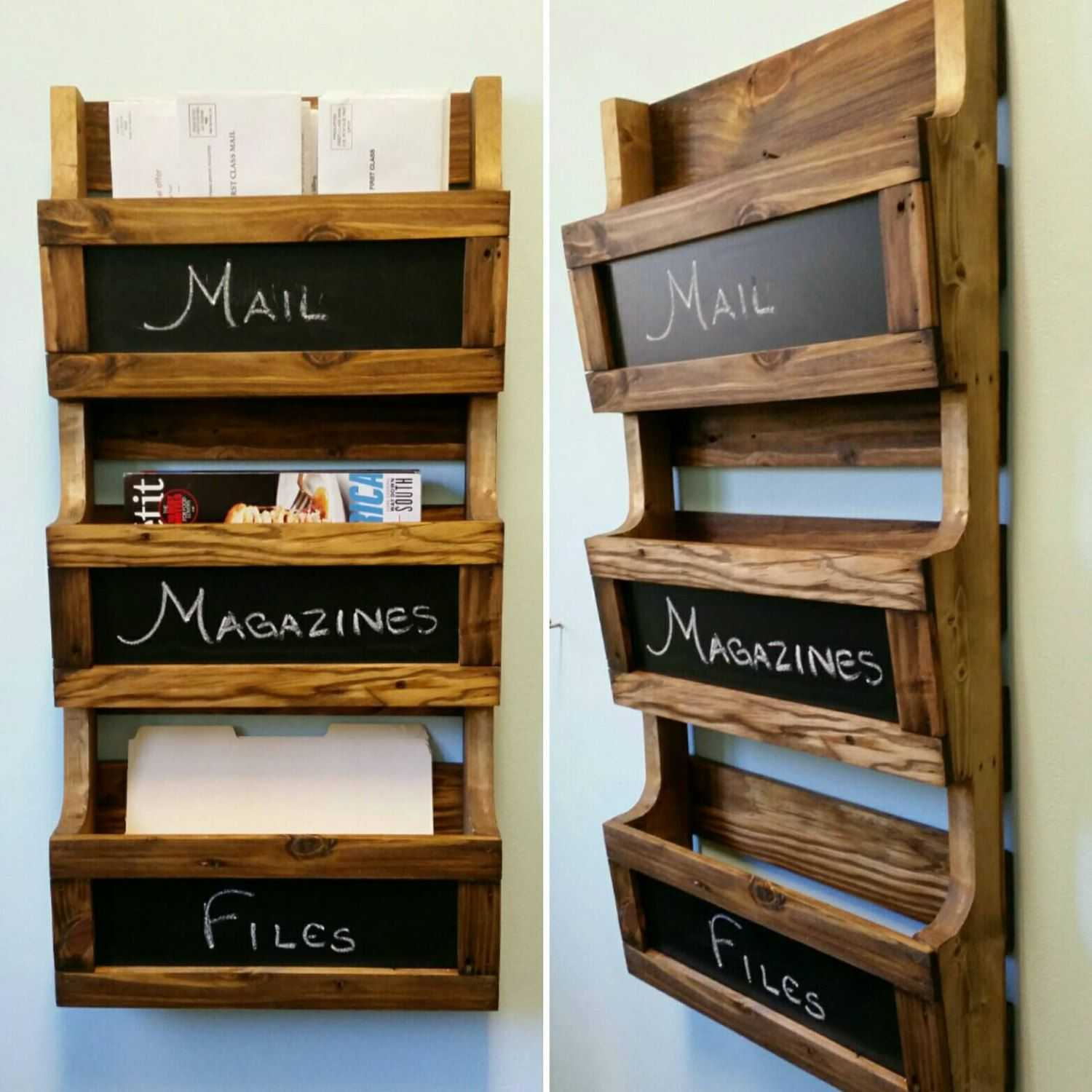 Got too many desk organization ideas to fit on your workspace? Check out these wall file organizers for some extra room!