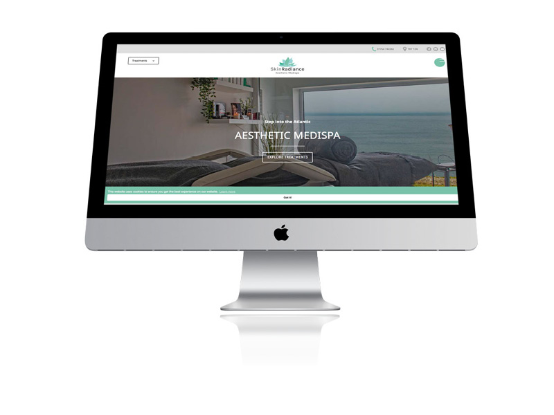Responsive web site design in Cornwall