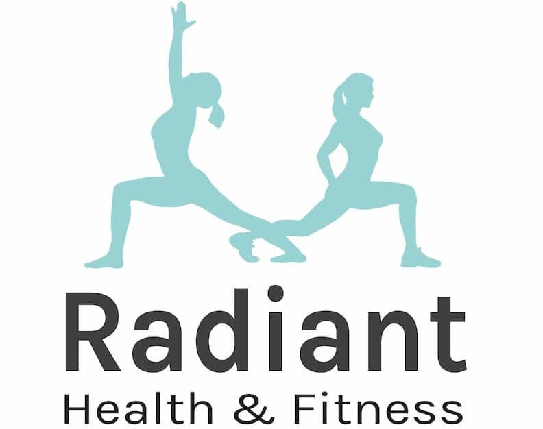 Radiant Fitness branding Cornwall