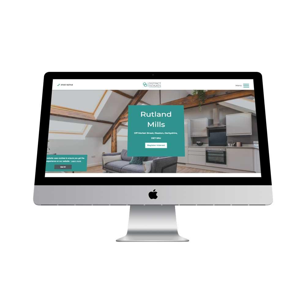 Responsive web design for housing developer