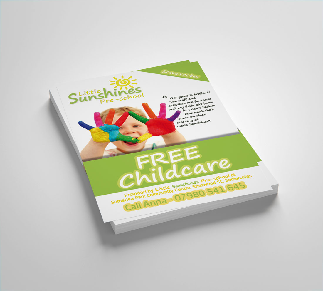 Flyers for nursery