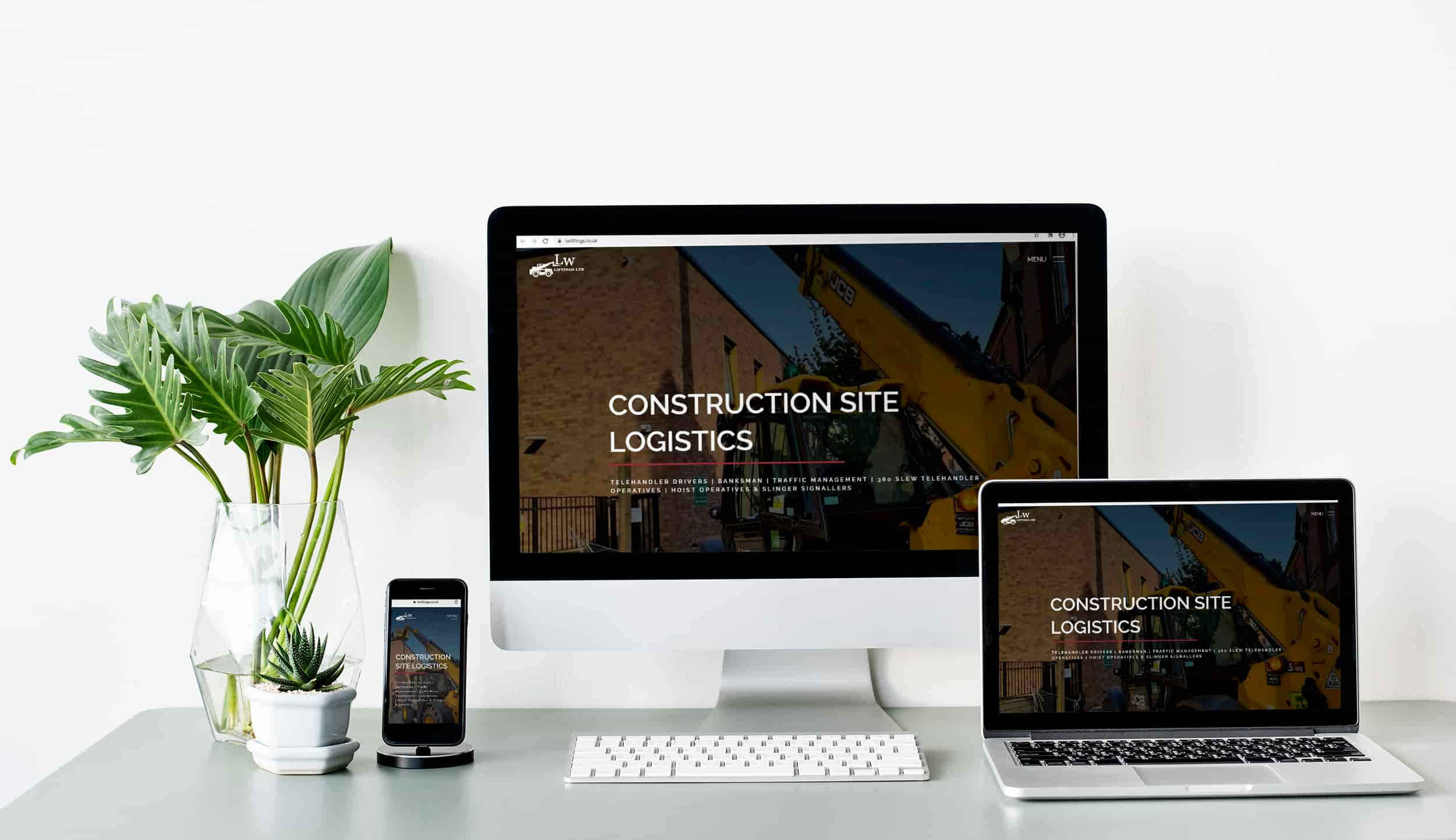 Responsive web design for housing developer