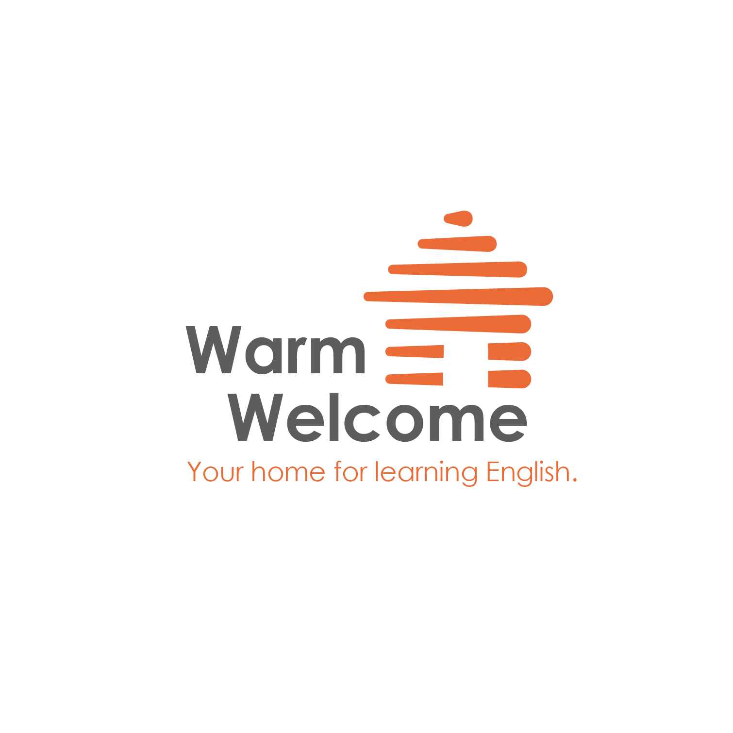 warm welcome finished logo and branding produced by paddle creative