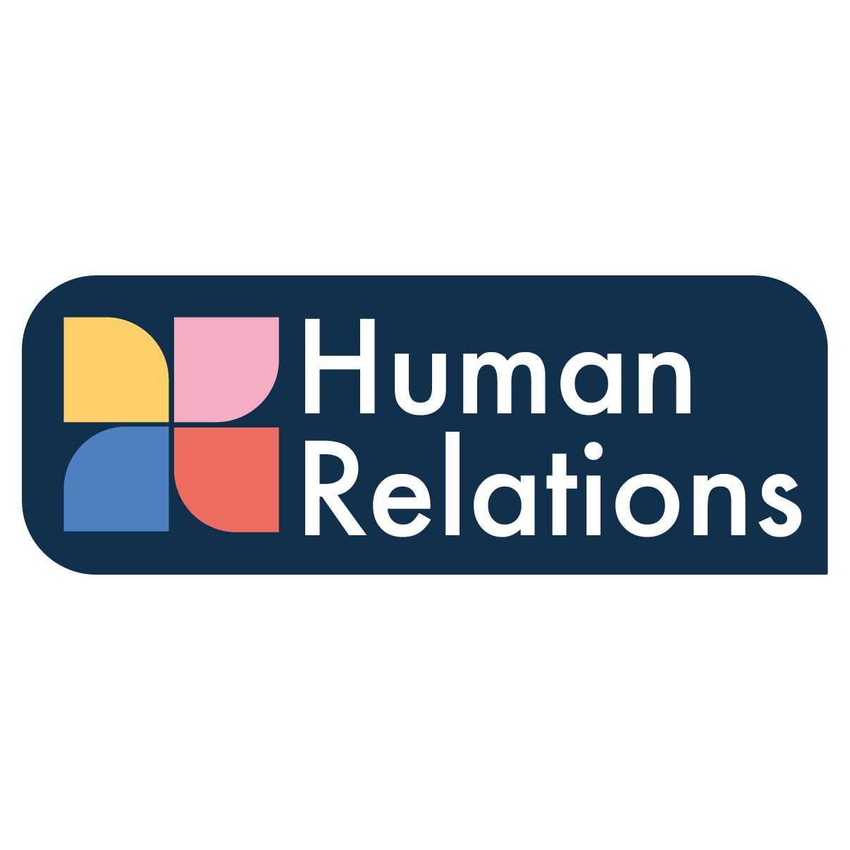 human relations branding for small business with logo design showed