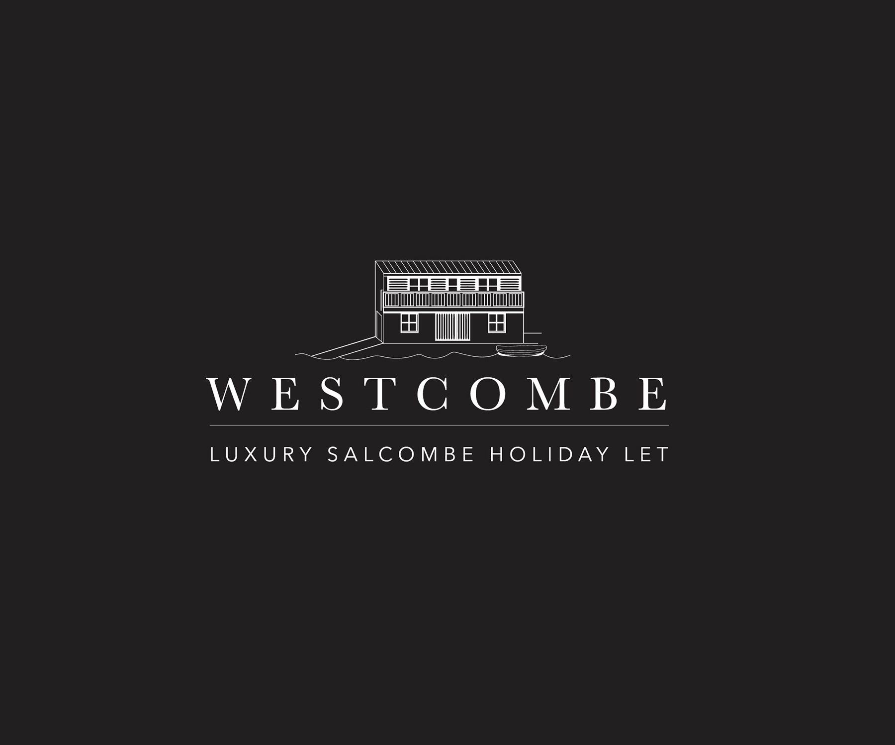 westcombe salcombe logo design by paddle creative