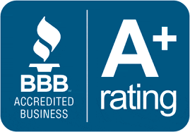 allgood electric is accredited and has an A+ rating with BBB