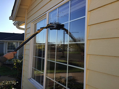 House window cleaning