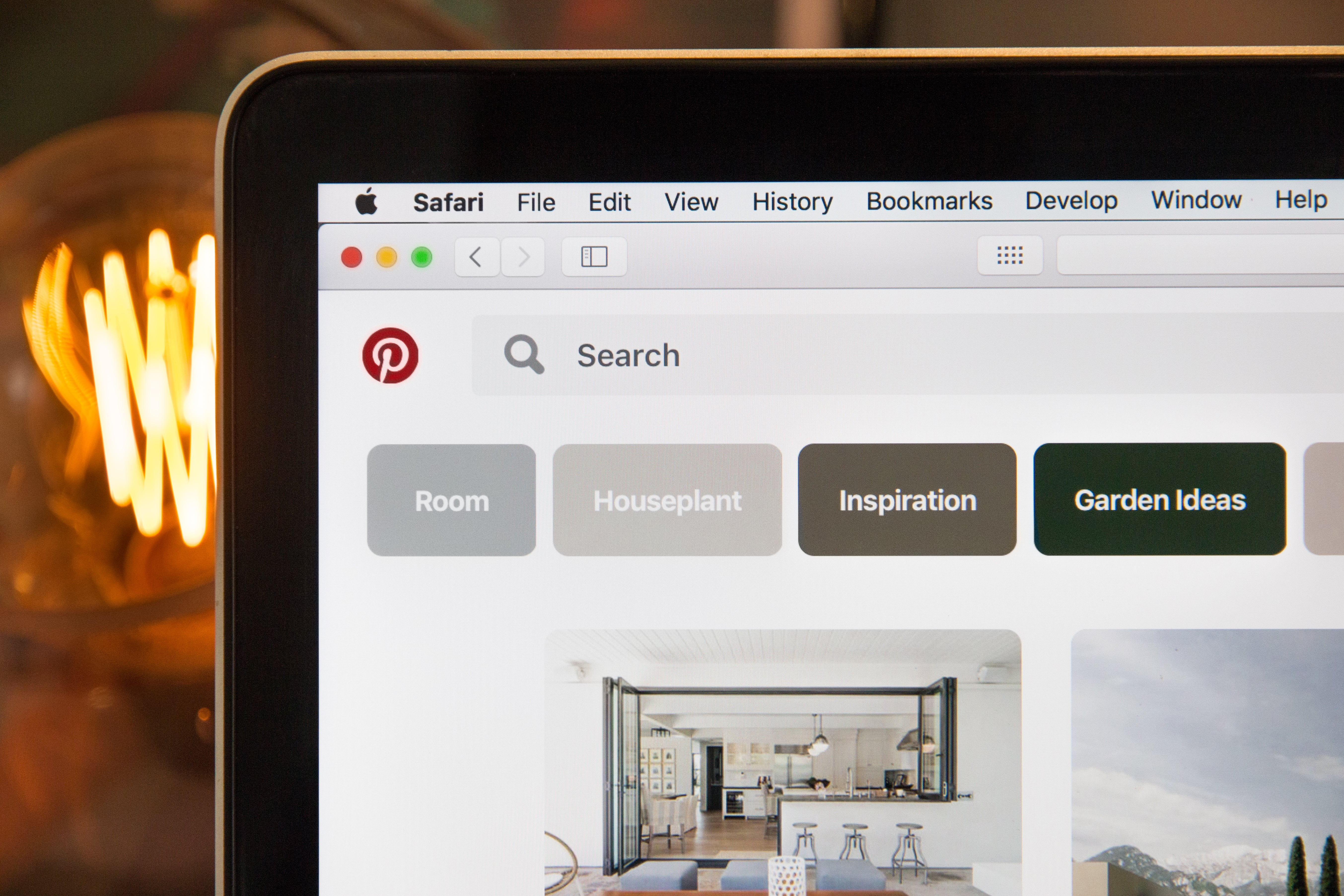 pinterest for business homepage