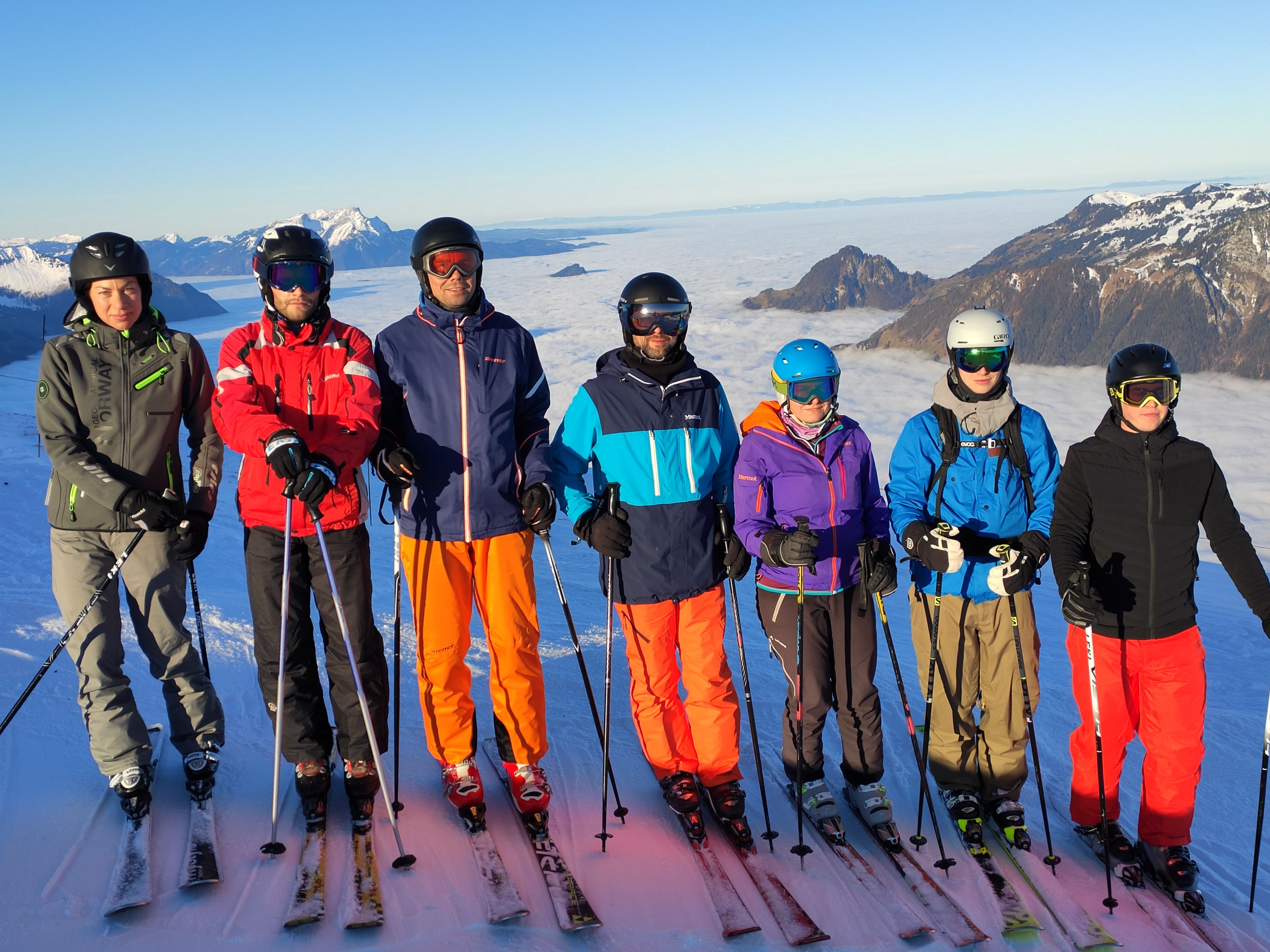 Familien Ski-Freizeit
