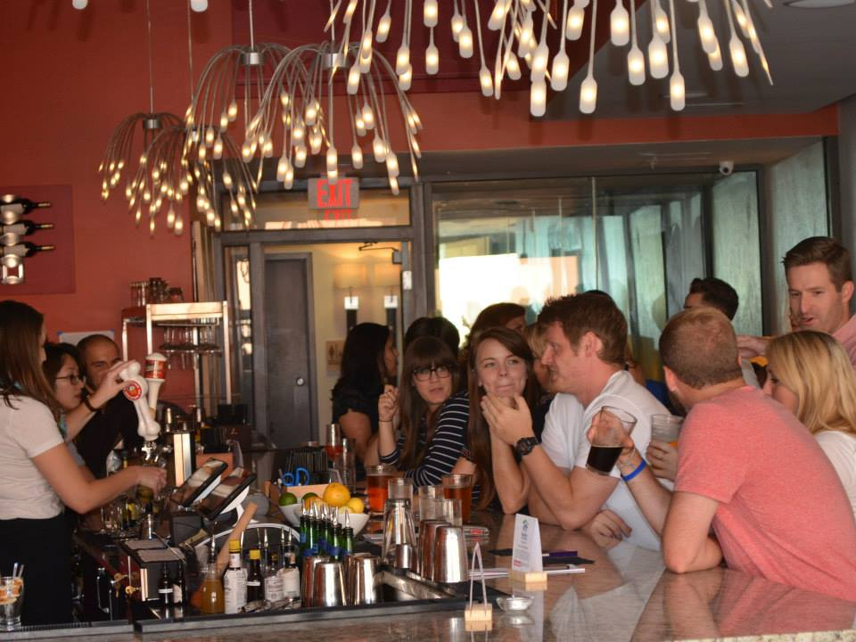 people inside denmark on high columbus bar
