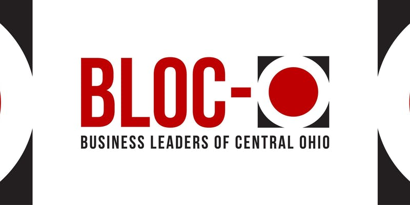 Bloc-O Networking Happy Hour Flyer