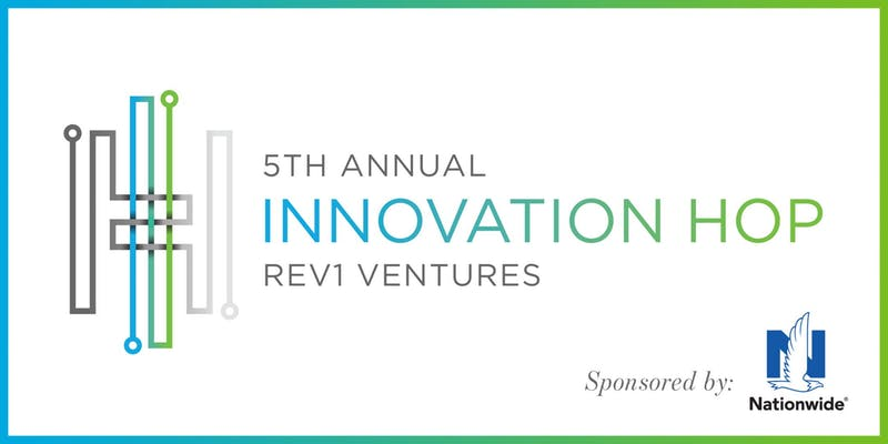 Fifth Annual Innovation Hop by Rev1 Ventures flyer