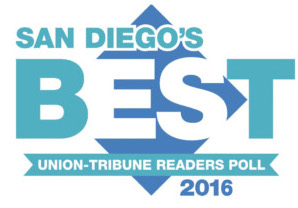 San Diego's Best 2016 Award