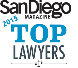 San Diego Magazine 2015 Top Lawyers