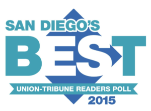 San Diego's Best 2015 Award