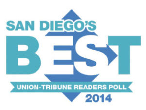 San Diego's Best 2014 Award